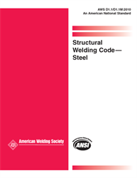 Picture of D1.1/D1.1M:2010 (2ND PRINTING) STRUCTURAL WELDING CODE-STEEL (HISTORICAL)