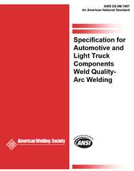 Standard Welding Procedure Specifications (SWPS)