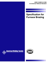 Picture of C3.6:1999 SPECIFICATION FOR FURNACE BRAZING (HISTORICAL)