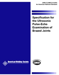 Picture of C3.8M/C3.8:2005 SPECIFICATION FOR THE ULTRASONIC EXAMINATION OF BRAZED JOINTS (HISTORICAL)