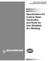 Picture of A5.18/A5.18M:1979 SPECIFICATION FOR CARBON STEEL FILLER METALS FOR GAS SHIELDED ARC WELDING (HISTORICAL)