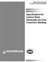 Picture of A5.20:1995 CARBON STEEL ELECTRODES FOR FLUX CORED ARC WELDING (HISTORICAL)