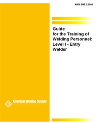 Picture of EG2.0:2006 CURRICULUM GUIDE FOR THE TRAINING OF WELDING PERSONNEL : LEVEL - WELDER (HISTORICAL)