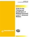 Picture of EG3.0:1996 GUIDE FOR THE TRAINING & QUALIFICATION OF WELDING PERSONNEL; LEVEL II-ADVANCED WELDER