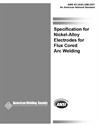 Picture of A5.34/A5.34M:2007 SPECIFICATION FOR NICKEL - ALLOY ELECTRODES FOR FLUX CORED ARC WELDING (HISTORICAL)