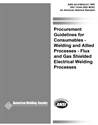 Picture of A5.01:1993 FILLER METAL PROCUREMENT GUIDELINES (HISTORICAL)
