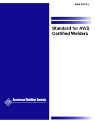 Picture of QC7:1993 SUPPLEMENT C, WELDER PERFORMANCE QUALIFICATION SHEET METAL TEST REQUIREMENTS