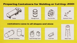 Picture of PCWC:2001 PREPARING CONTAINERS FOR WELDING OR CUTTING SET OF 25 BOOKLETS