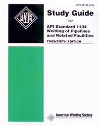Picture of API-M:2008 STUDY GUIDE FOR API STANDARD 1104 WELDING OF PIPELINES AND RELATED FACILITIES (HISTORICAL)