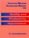 Picture of CMWS CERTIFIED WELDING SUPERVISOR MANUAL FOR QUALITY AND PRODUCTIVITY IMPROVEMENT