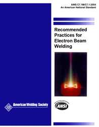 Picture of C7.1M/C7.1:2004 RECOMMENDED PRACTICES FOR ELECTRON BEAM WELDING (HISTORICAL)