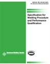 Picture of B2.1:2005 SPECIFICATION FOR WELDING PROCEDURE AND PERFORMANCE QUALIFICATION (HISTORICAL)
