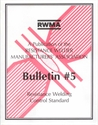 Picture of RW5 BULLETIN #5: RESISTANCE WELDING CONTROL STANDARD