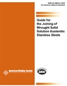 Picture of G2.3M/G2.3:2009 GUIDE FOR JOINING OF WROUGHT SOLID SOLUTION AUSTENITIC STAINLESS STEELS (HISTORICAL)