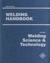 Picture of WHB-1.9 WELDING HANDBOOK VOLUME 1 - WELDING SCIENCE & TECHNOLOGY (AWS WHB-1.9)