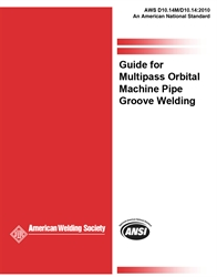 Picture of D10.14M/D10.14:2010 GUIDE FOR MULTIPASS ORBITAL MACHINE PIPE GROOVE WELDING