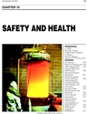 Picture of BHC10 - SAFETY AND HEALTH