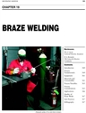 Picture of BHC19 - BRAZE WELDING