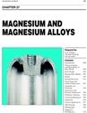 Picture of BHC27 - MAGNESIUM AND MAGNESIUM ALLOYS