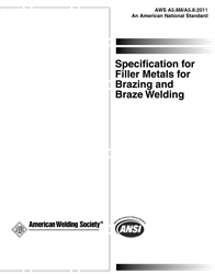 Picture of A5.8M/A5.8:2011 AMD1 SPECIFICATION FOR FILLER METALS FOR BRAZING AND BRAZE WELDING