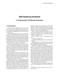 Picture of SHC1 SOLDERING HANDBOOK CHAPTER 1: FUNDAMENTALS OF SOLDERING TECHNOLOGY