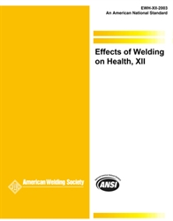 Picture of EWH-12 EFFECTS OF WELDING ON HEALTH
