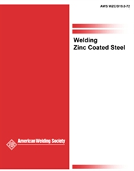 Picture of WZC WELDING ZINC-COATED STEELS (D19.0)
