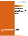Picture of G2.1M/G2.1:2012 GUIDE FOR THE JOINING OF WROUGHT NICKEL-BASED ALLOYS