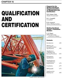 Picture of WHC1.15 QUALIFICATION AND CERTIFICATION