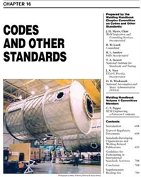 Picture of WHC1.16 CODES AND OTHER STANDARDS