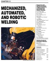 Picture of WHC1.11 MECHANIZED, AUTOMATED AND ROBOTIC WELDING