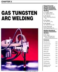 Aws Bookstore Aws Whc2 03 Gas Tungsten Arc Welding