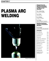 Picture of WHC2.07 PLASMA ARC WELDING