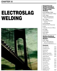 Picture of WHC2.10 ELECTROSLAG WELDING
