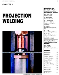 Aws Bookstore Aws Whc3 02 Projection Welding