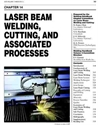 Picture of WHC3.14 LASER BEAM WELDING, CUTTING AND ASSOCIATED PROCESSES