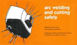 Picture of AWS ARC WELDING AND CUTTING SAFETY SET OF 25 PAMPHLETS