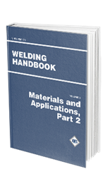 Picture of WHB-5.9 WELDING HANDBOOK VOLUME 5 - MATERIALS AND APPLICATIONS PART 2