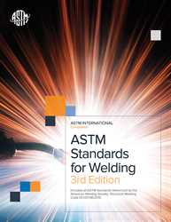 Picture of ASTMSW ASTM STANDARDS FOR WELDING 3rd EDITION