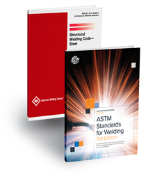 Picture of ASTMD1 ASTM STANDARDS FOR WELDING PLUS AWS D1.1/D1.1M:2015 SET