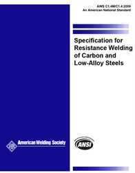 Picture of C1.4M/C1.4:2017 SPECIFICATION FOR RESISTANCE WELDING OF CARBON AND LOW-ALLOY STEELS