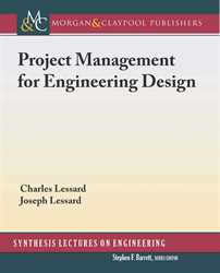 Picture of Project Management for Engineering Design (Morgan & Claypool Publishers)