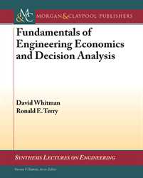 Picture of Fundamentals of Engineering Economics and Decision Analysis (Morgan & Claypool Publishers)