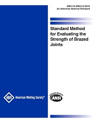 Picture of C3.2M/C3.2:2019-STANDARD METHOD FOR EVALUATING THE STRENGTH OF BRAZED JOINTS
