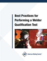 Picture of BPWQ  BEST PRACTICES FOR PERFORMING A WELDER QUALIFICATION TEST