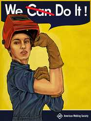 Picture of ROSIE THE WELDER-POSTER