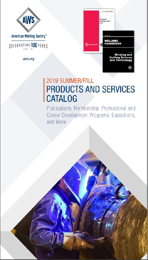 Products and Services Catalog - 2019 Summer/Fall